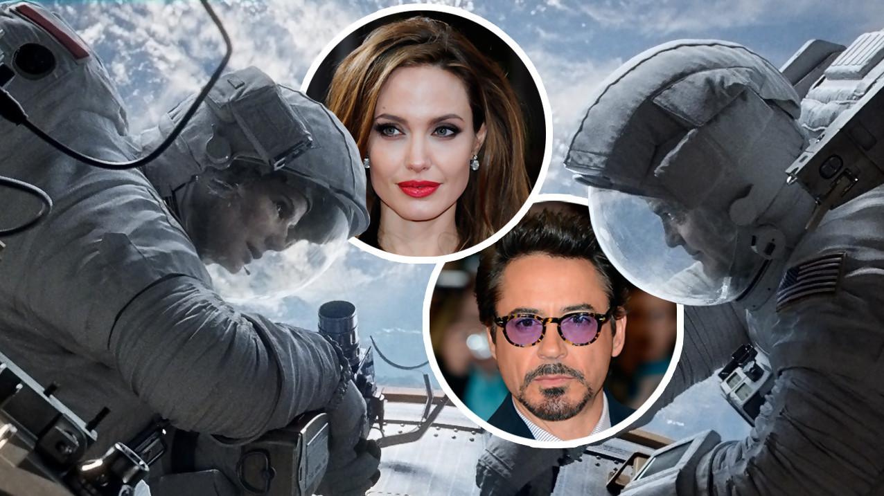 ¿Por qué Angelina Jolie y Robert Downey Jr dejaron caer Gravity?