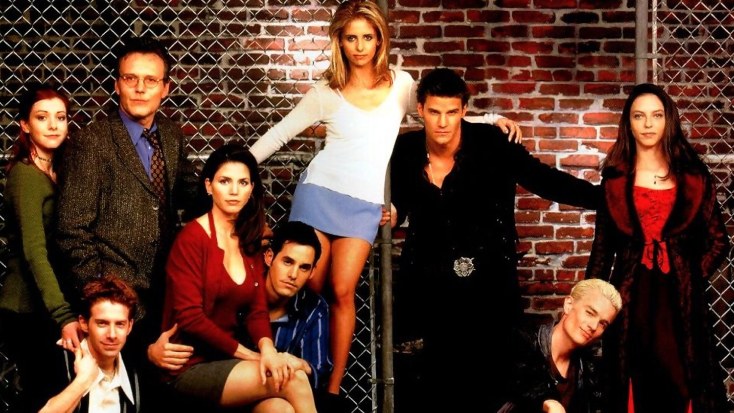 Buffy y Angel: reunión del elenco de las dos series para el 20 aniversario de Angel