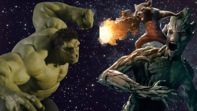Vin Diesel anuncia el enfrentamiento de GROOT contra HULK en los próximos Avengers