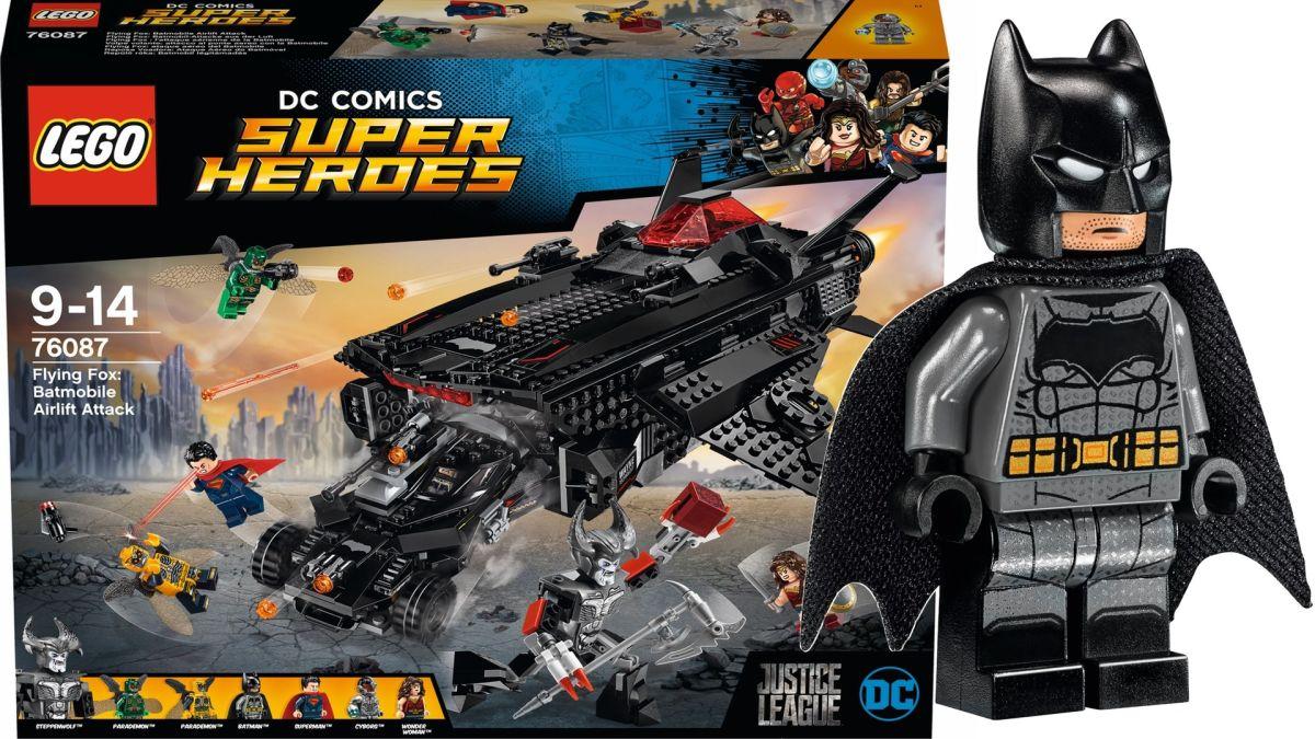 LEGO de 'Justice League' presenta los nuevos vehículos de Batman, Steppenwolf, Parademons y más