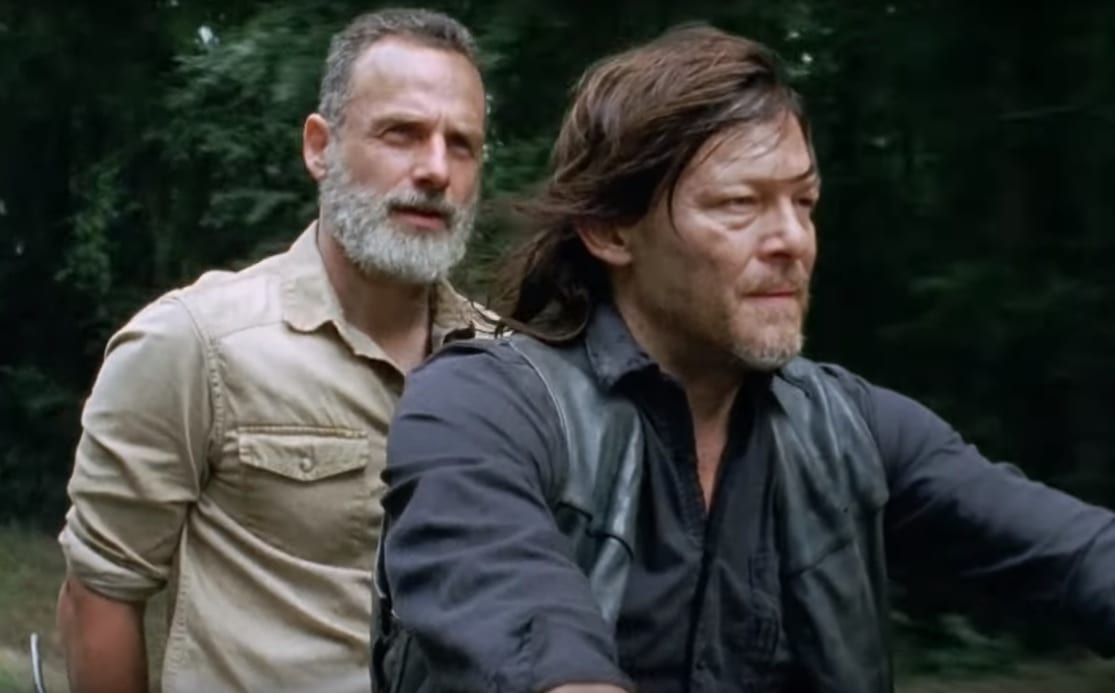 Norman Reedus 'no estuvo de acuerdo' con la partida de Andrew Lincoln de The Walking Dead