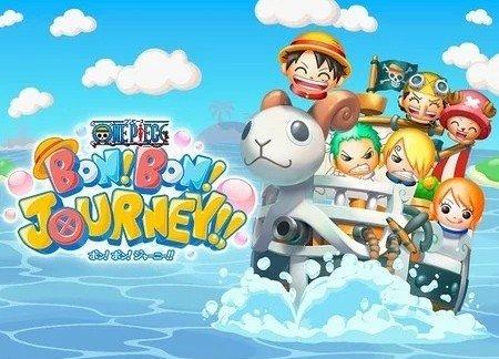 One Piece Bon!  Bon!  ¡¡Viaje!!  trae diversión enigmática temática de One Piece a los móviles