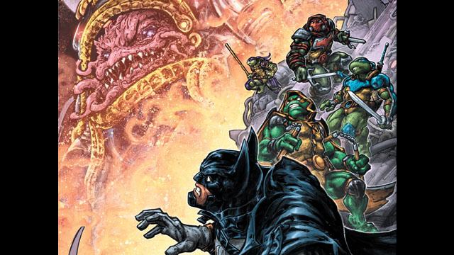 Vista previa exclusiva: Batman / Teenage Mutant Ninja Turtles III # 3