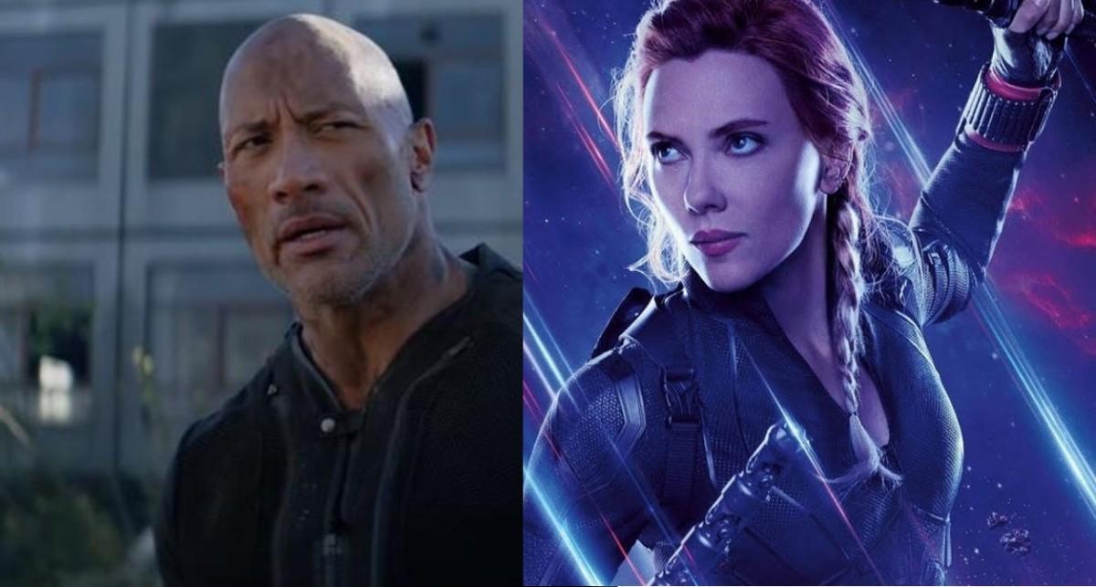 Dwayne Johnson y Scarlett Johansson encabezan la lista de las estrellas con mayores ingresos de 2019