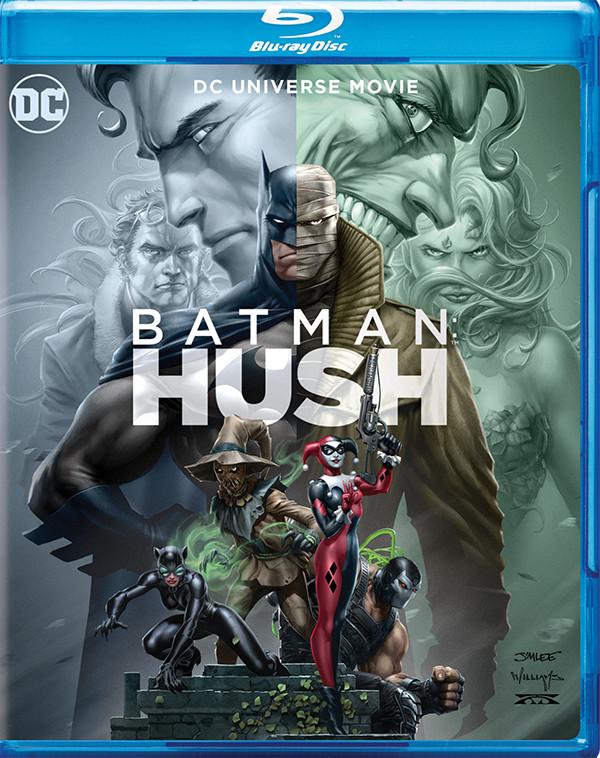 Batman: Hush portada y características especiales reveladas