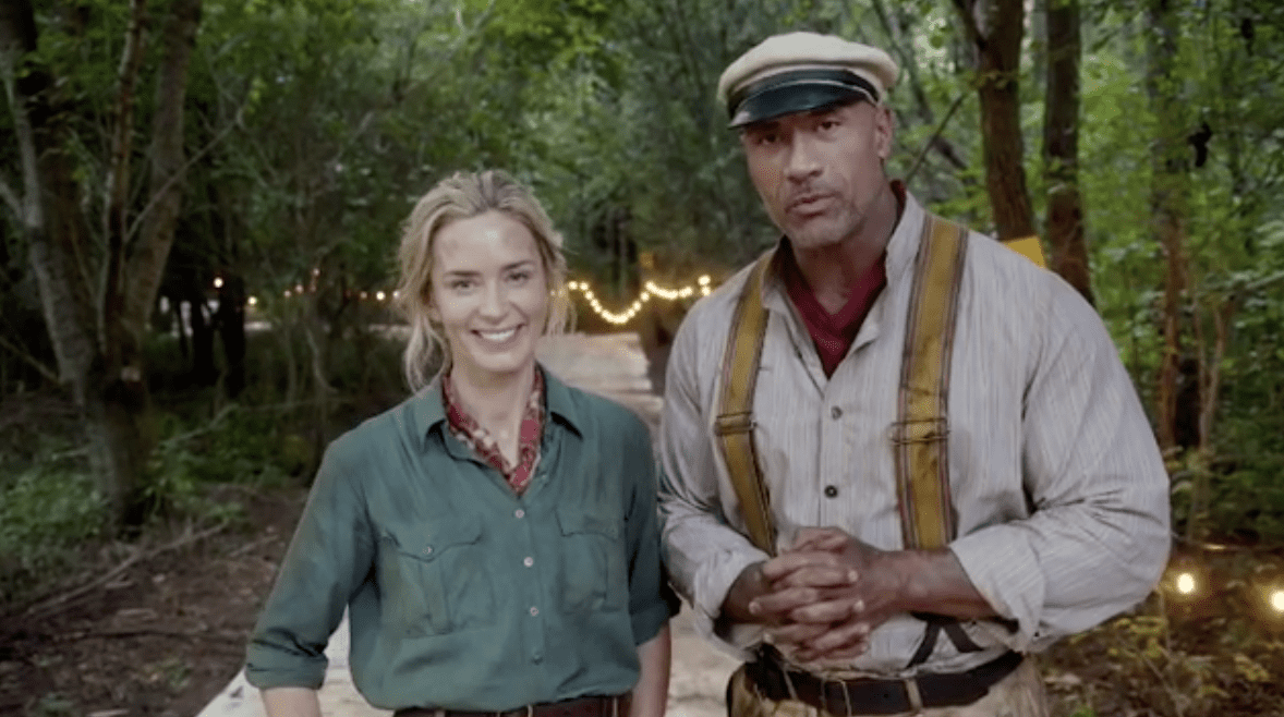 Dwayne Johnson comparte la imagen detrás de escena de Disney's Jungle Cruise