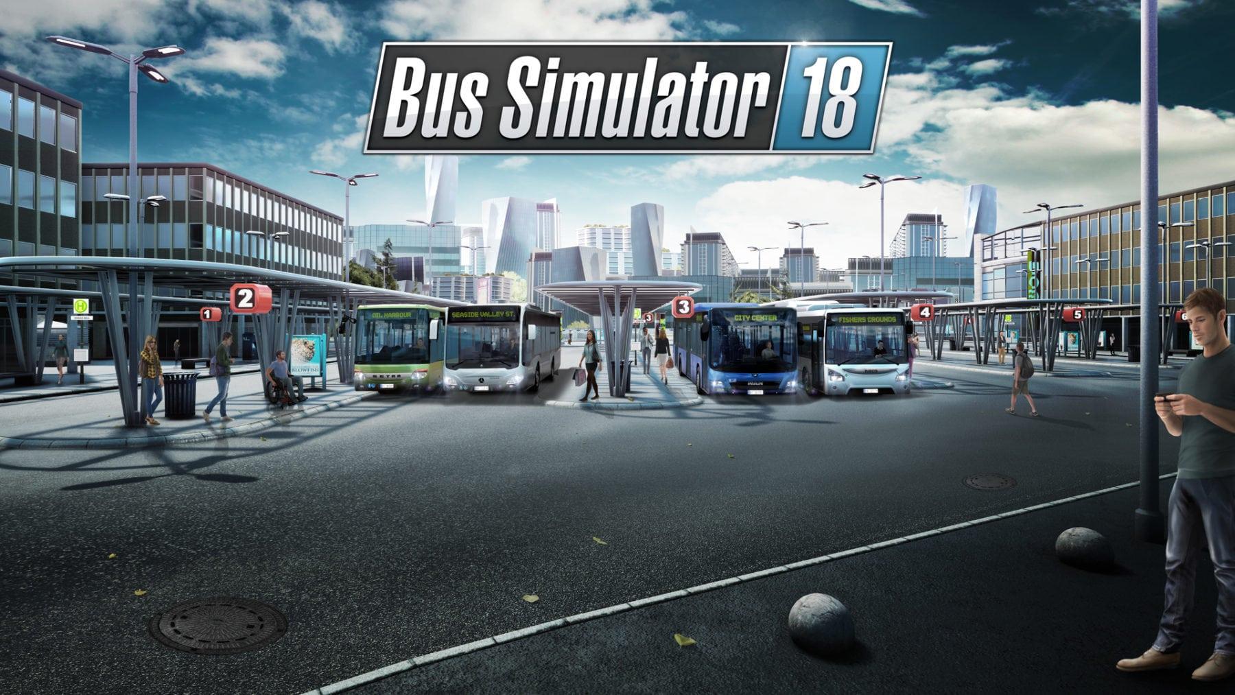 La extensión del mapa de Bus Simulator 18 llega a finales de este mes con nuevas carreteras, paradas y ubicaciones