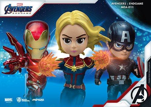 Avengers de Beast Kingdom: figuras coleccionables de Endgame Egg Attack