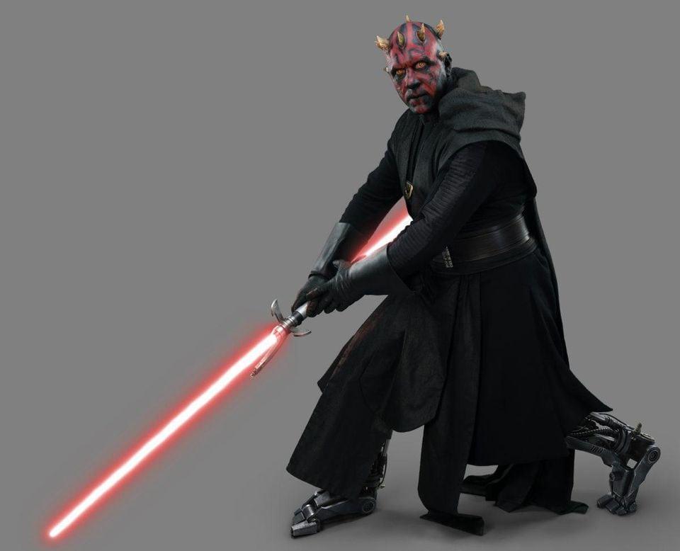 Star Wars: The Clone Wars utilizó a Ray Park en traje de gorra para la pelea con sables de luz de Darth Maul en la temporada 7