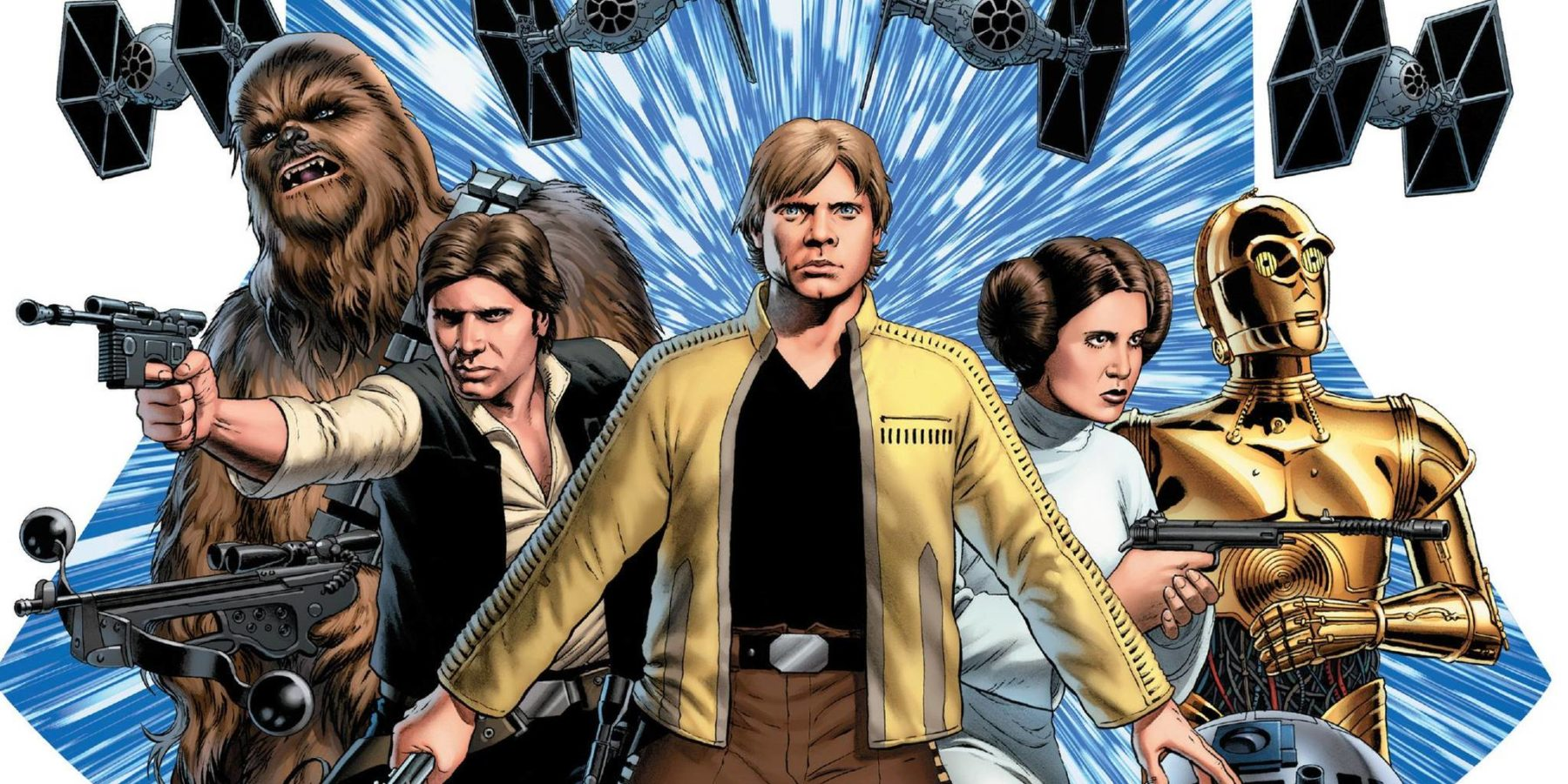 Celebración de Star Wars: Marvel anuncia nuevo equipo de escritores / artistas para la serie Star Wars y Age of Resistance