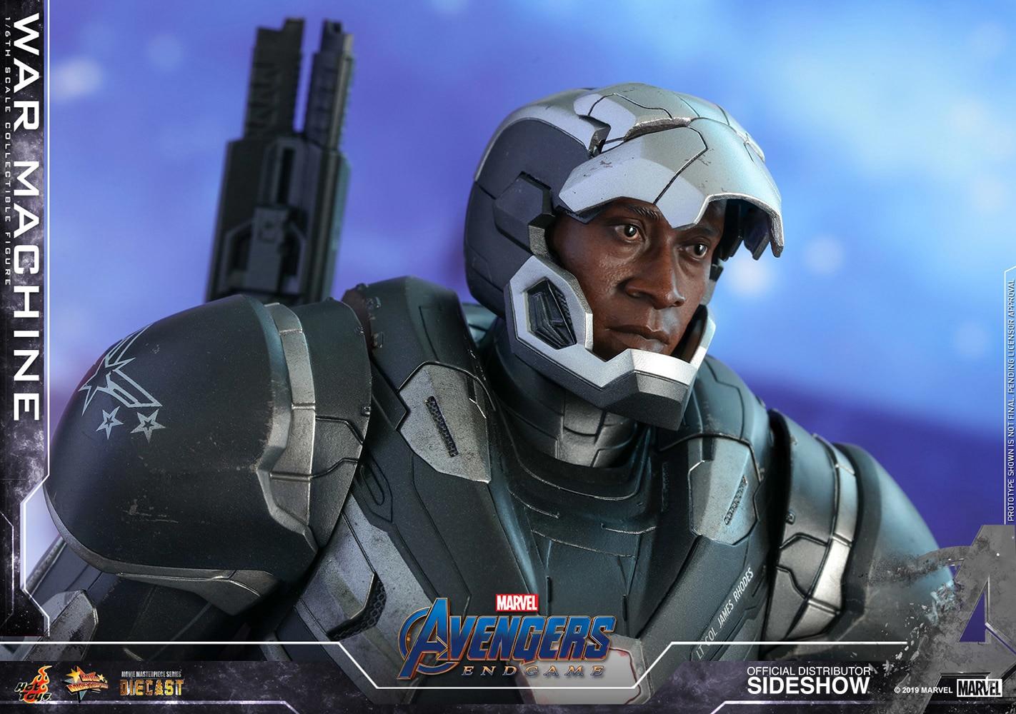 Hot Toys presenta su figura de Avengers: Endgame War Machine Movie Masterpiece Series