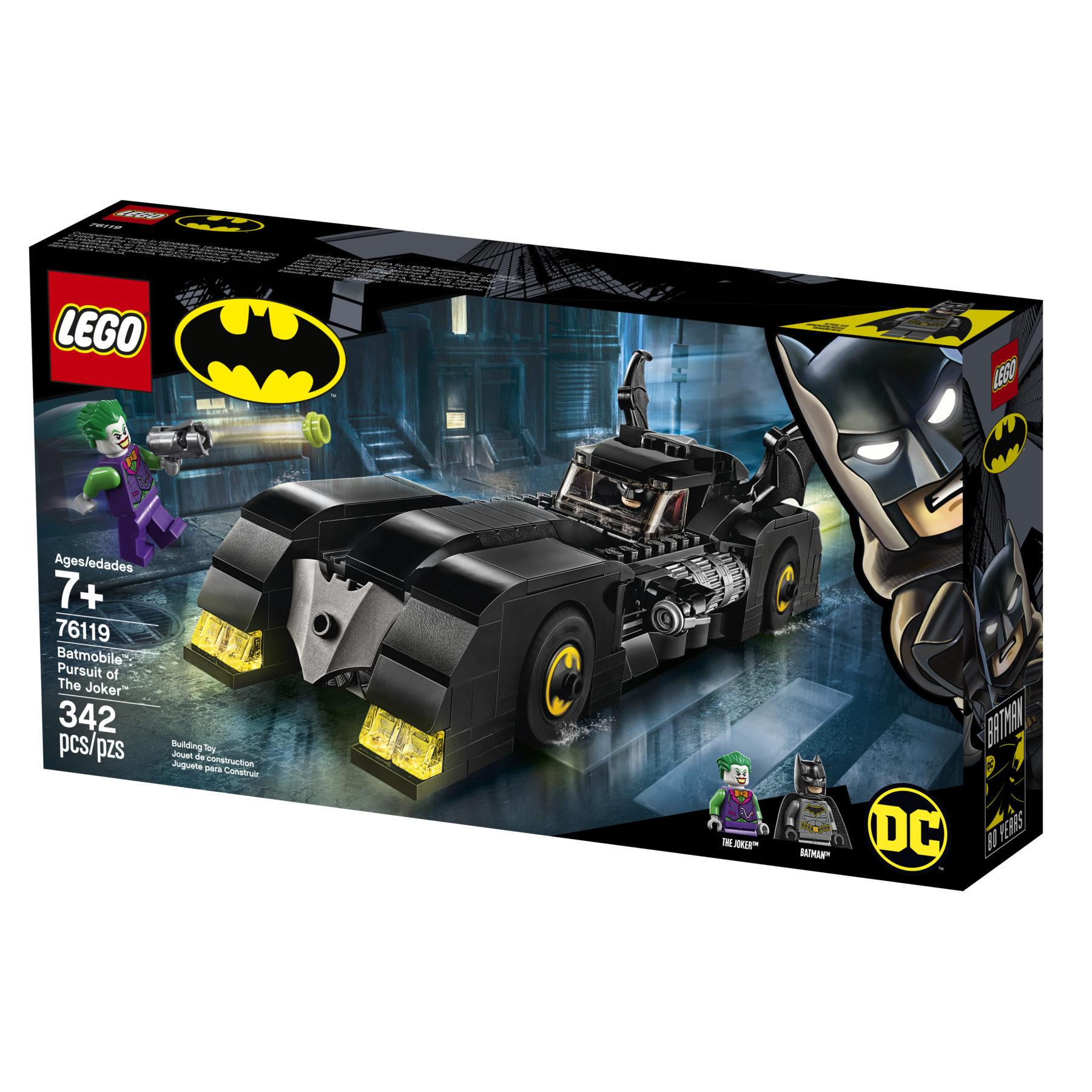 LEGO celebra el 80 aniversario de Batman con nuevos sets