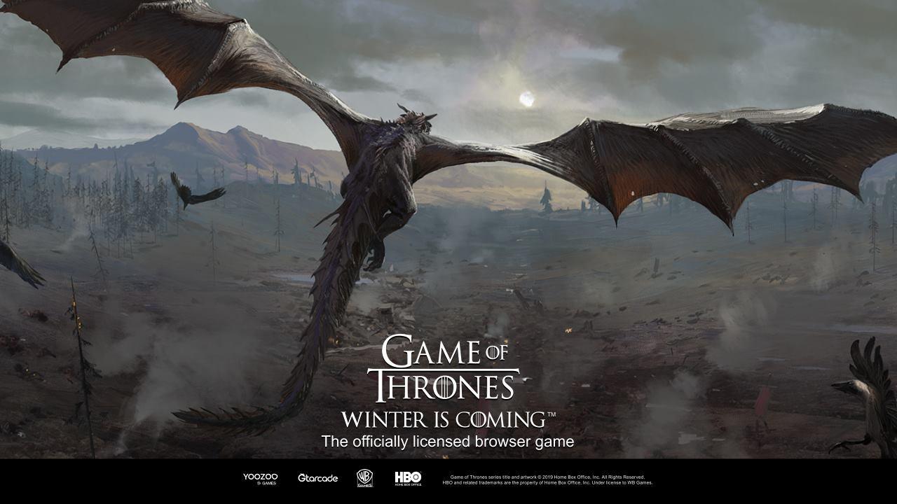 Juego de navegador de PC de estrategia en tiempo real Game of Thrones Winter is Coming disponible ahora