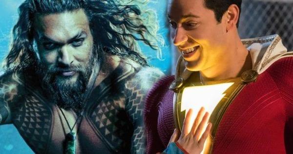 Shazam!  supera a Aquaman en avances de taquilla