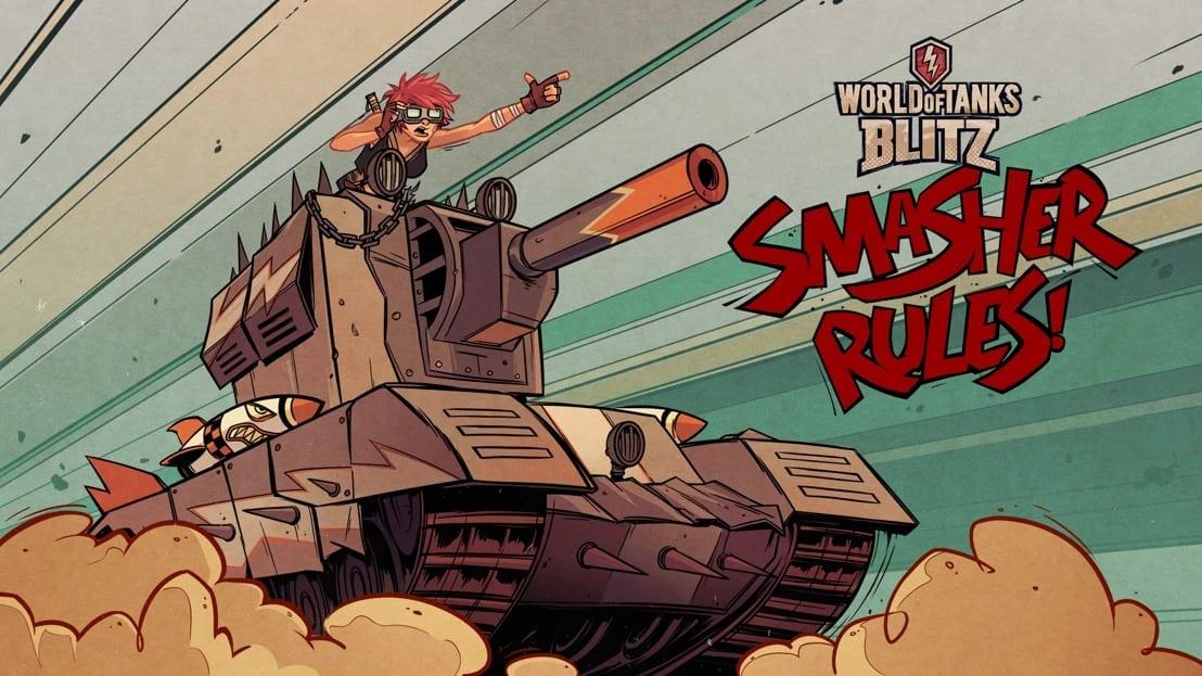 World of Tanks Blitz y Tank Girl se unen para traer un nuevo tanque a los jugadores