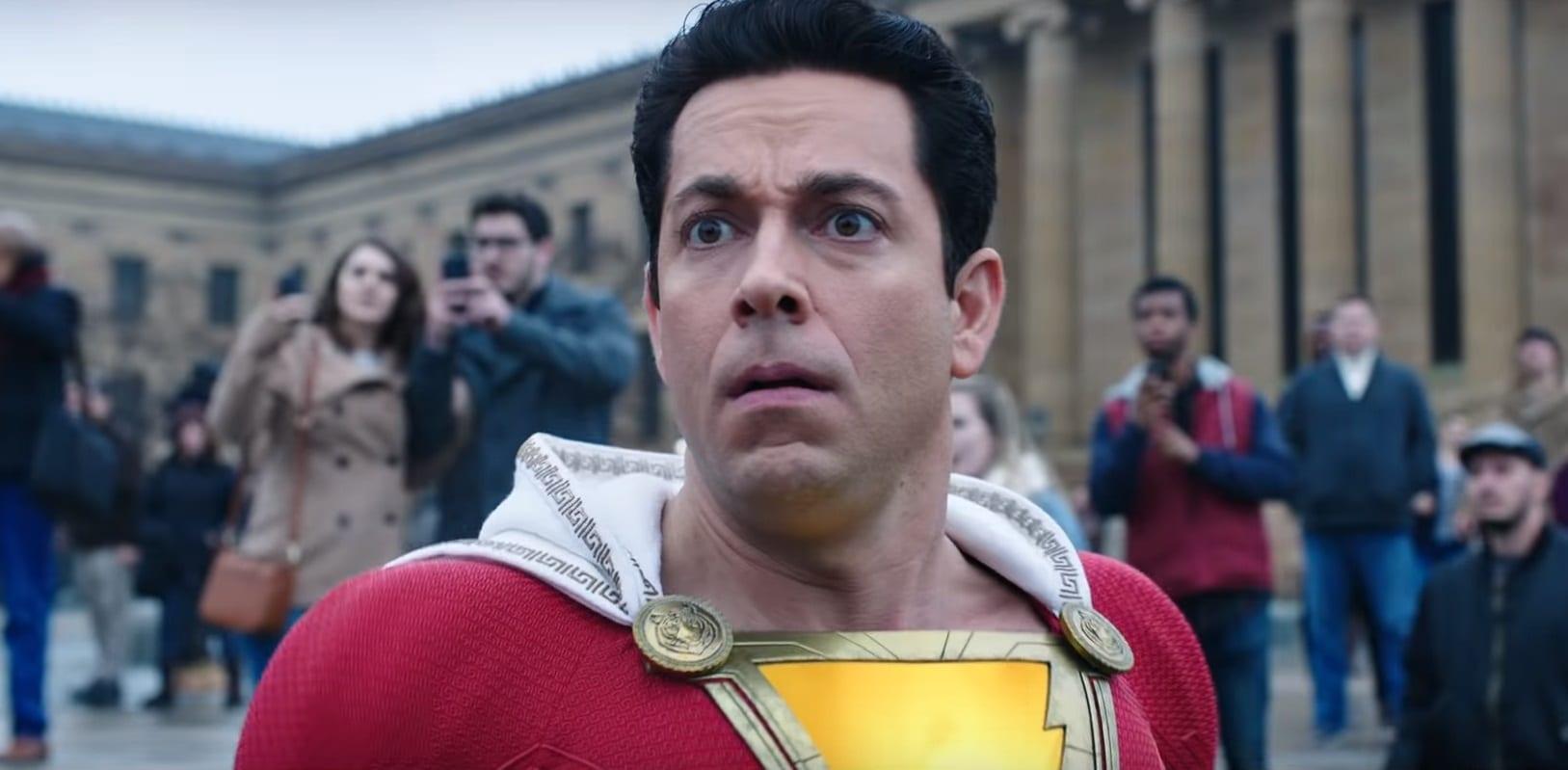 ¡Zachary Levi revela la peor parte de usar el Shazam!  disfraz