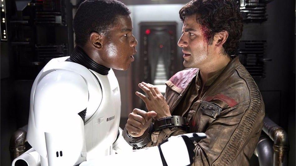 Oscar Isaac se burla de más escenas entre Poe y Finn para Star Wars: Episodio IX