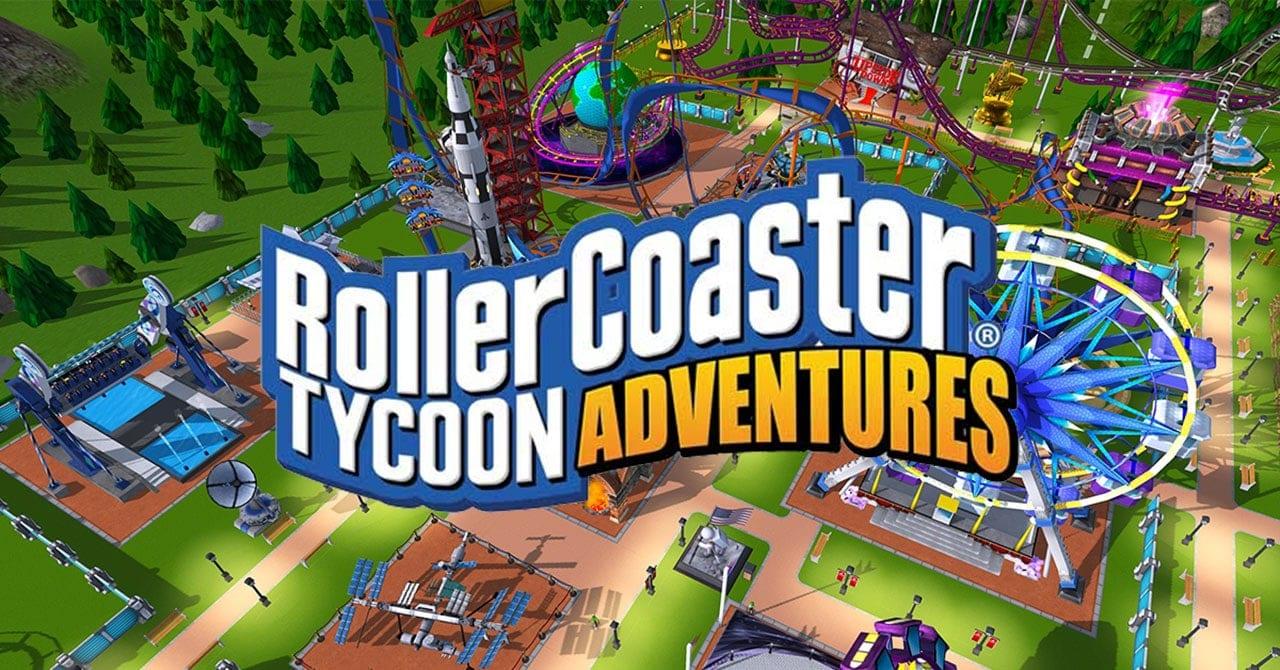 RollerCoaster Tycoon Adventures de Atari llega a PC a través de la tienda Epic Games