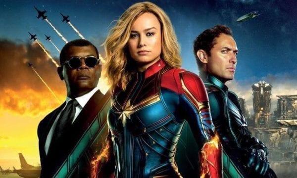 El Capitán Marvel se dispara con la apertura de taquilla global de $ 455 millones, el segundo más grande en la historia de una película de superhéroes