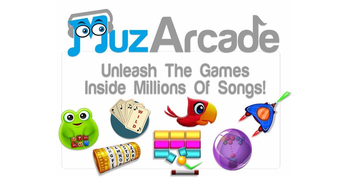 Desbloquea muchos juegos a través de la música que amas con MuzArcade
