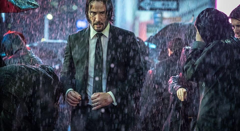 Keanu Reeves rechazó el papel de Capitán Marvel de Jude Law para John Wick 3