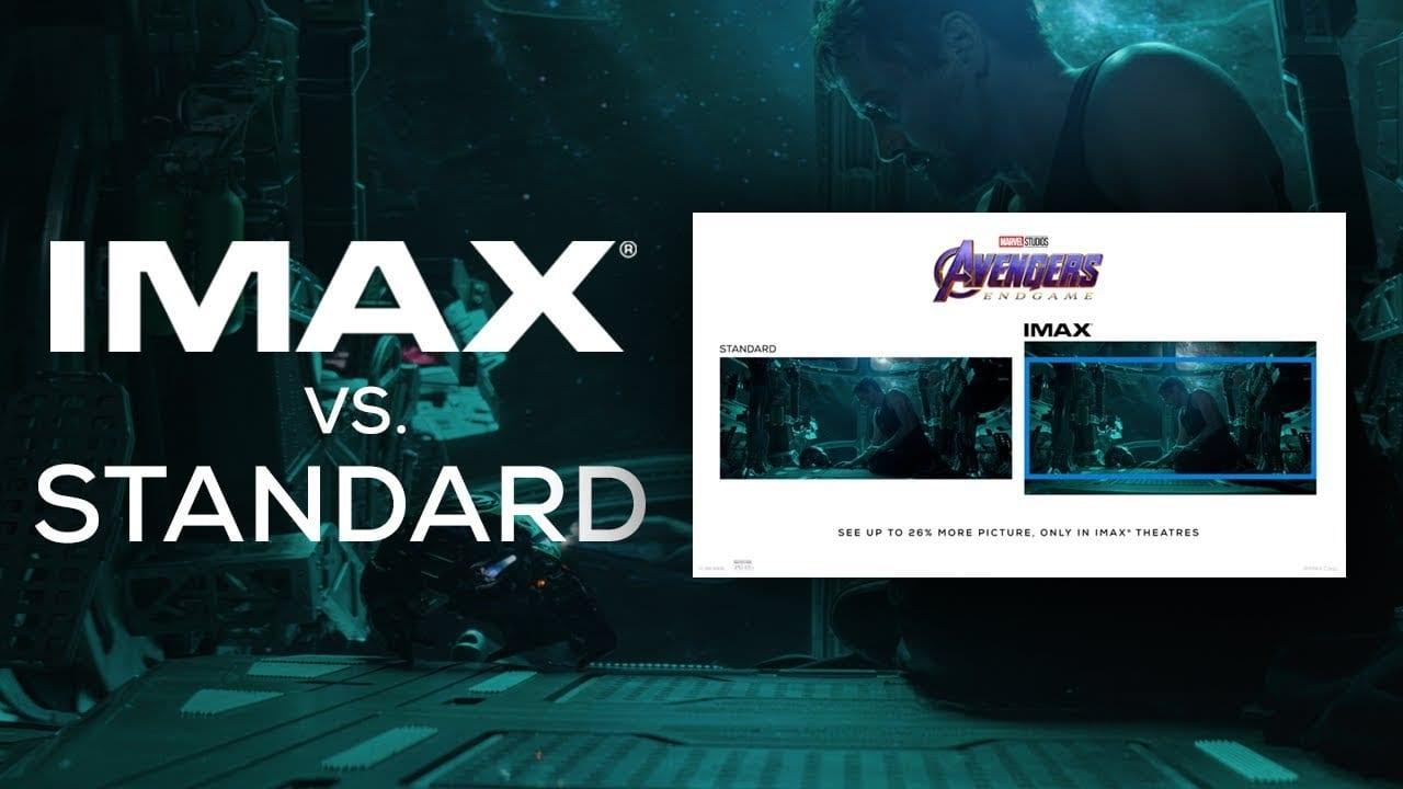 Avengers: Endgame IMAX trailer ofrece una comparación lado a lado con el formato estándar