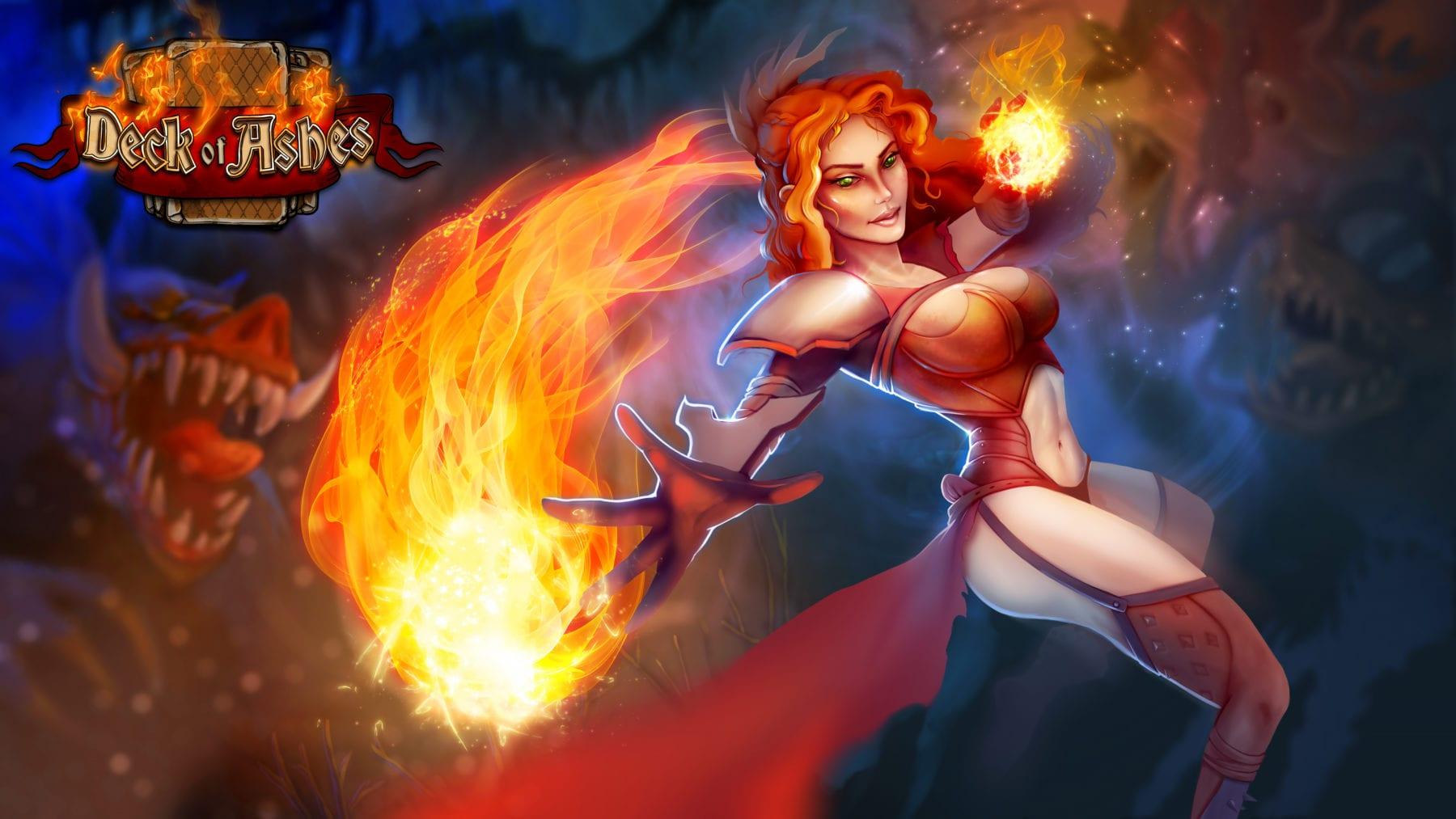 AY Games presenta Pyromancer para Deck of Ashes