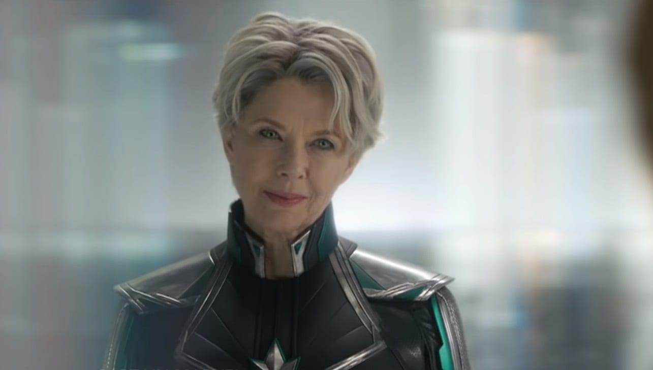 El clip del Capitán Marvel confirma la identidad del personaje misterioso de Annette Bening