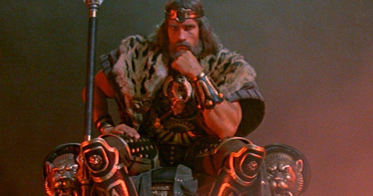 Arnold Schwarzenegger todavía quiere hacer la película King Conan