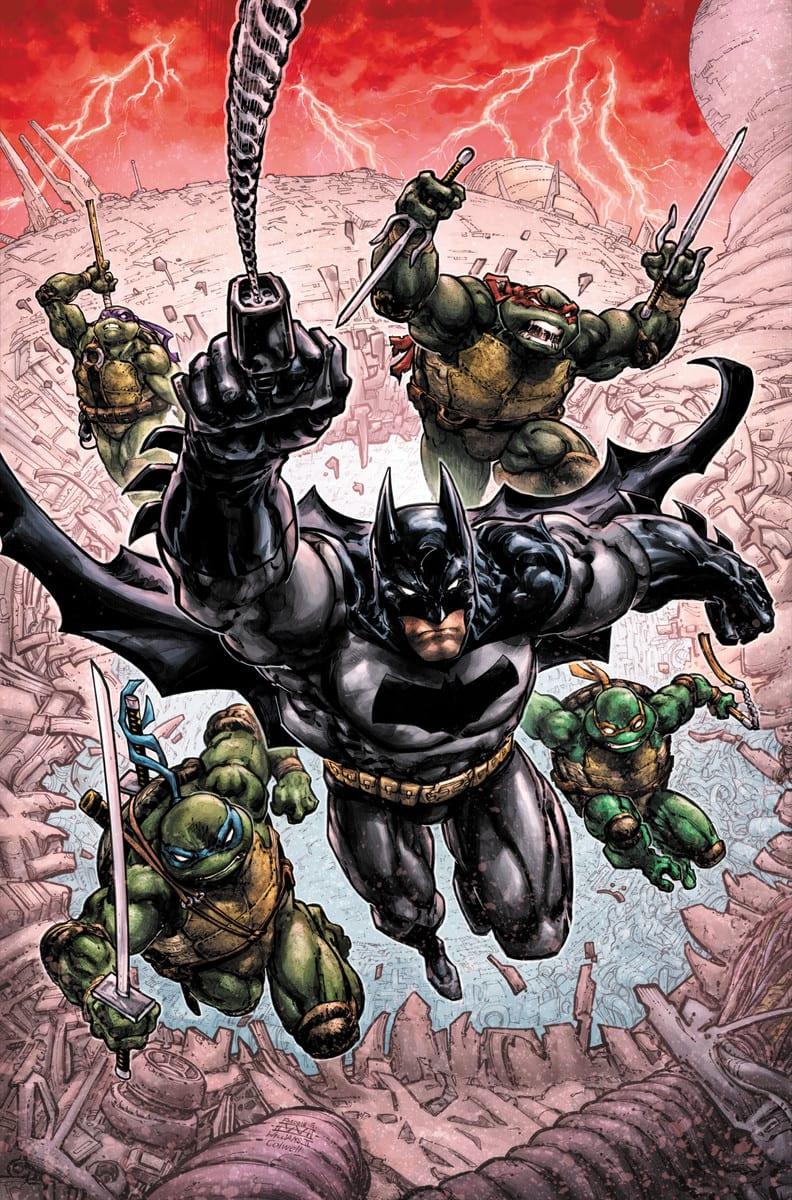 DC e IDW anuncian a Batman / Teenage Mutant Ninja Turtles III