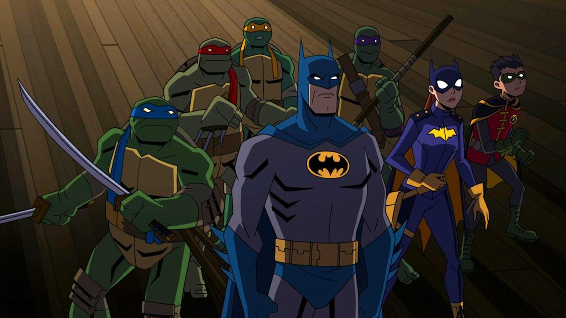 Batman y Teenage Mutant Ninja Turtles unirán fuerzas en el crossover de la película de animación