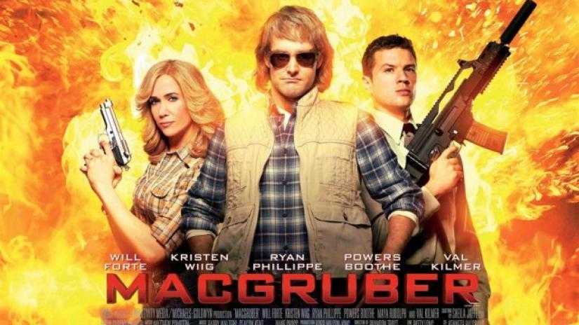Serie de TV MacGruber en proceso