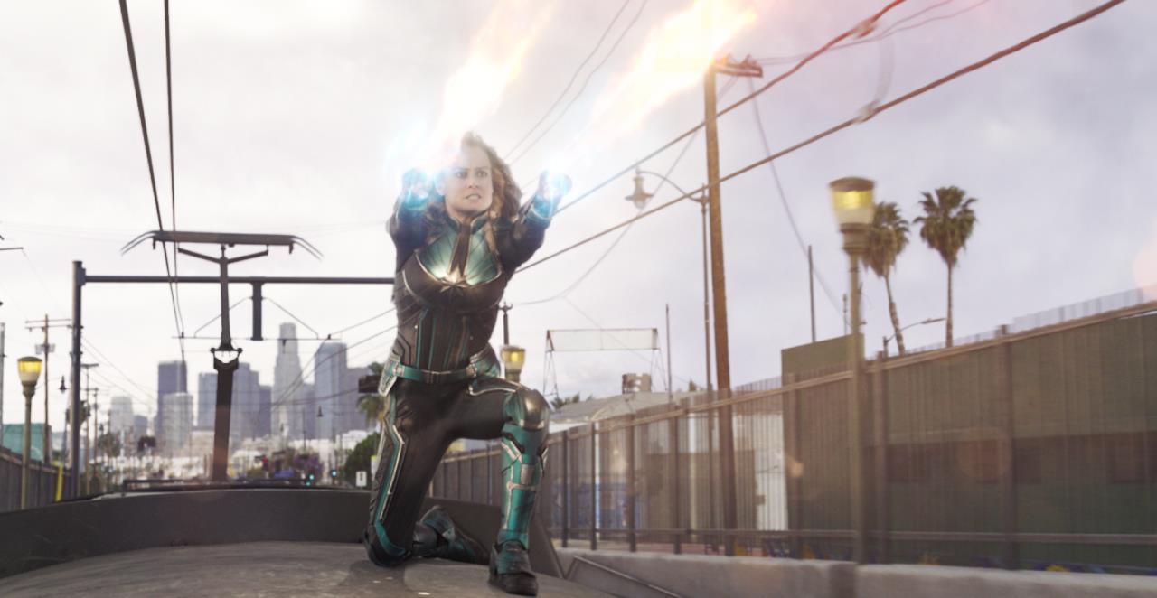 Vea un clip lleno de acción del Capitán Marvel con Carol Danvers, Nick Fury y el Agente Coulson