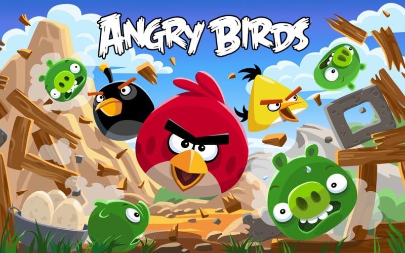 Angry Birds golf de interior viene al Reino Unido