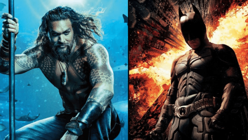Aquaman supera a The Dark Knight Rises para convertirse en la mayor película de DC de la historia
