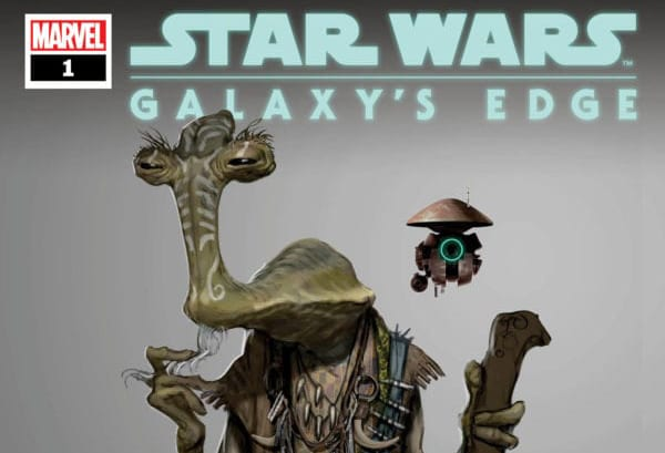 Marvel anuncia la serie de cómics Star Wars: Galaxy's Edge