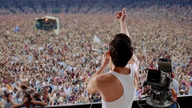 Lanzamiento de Bohemian Rhapsody para entretenimiento en el hogar con recreación completa de Live Aid