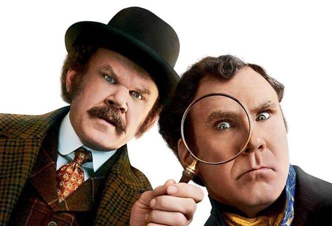 Sony intentó descargar Holmes & Watson a Netflix