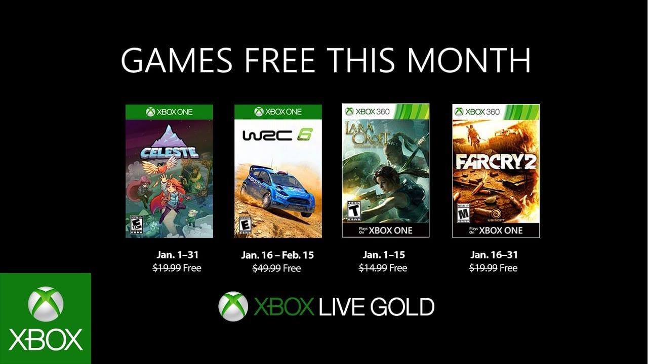 Celeste y WRC 6 llegarán con Xbox Games con Gold enero de 2019