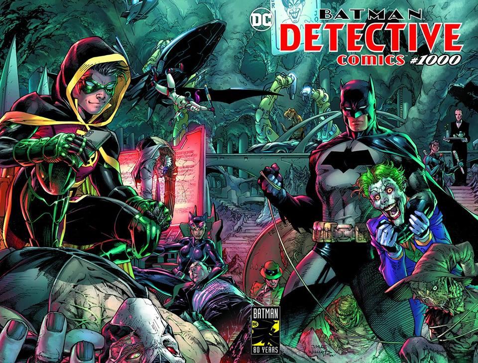 Portada de Detective Comics # 1000 y detalles revelados