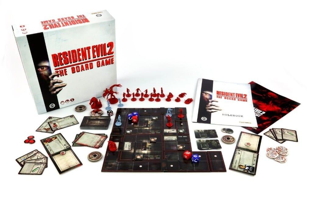 Resident Evil 2: The Board Game y expansiones disponibles para reservar ahora