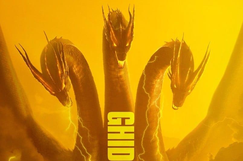 Godzilla: pósters de personajes del Rey de los Monstruos con el Rey Ghidorah, Rodan y Mothra