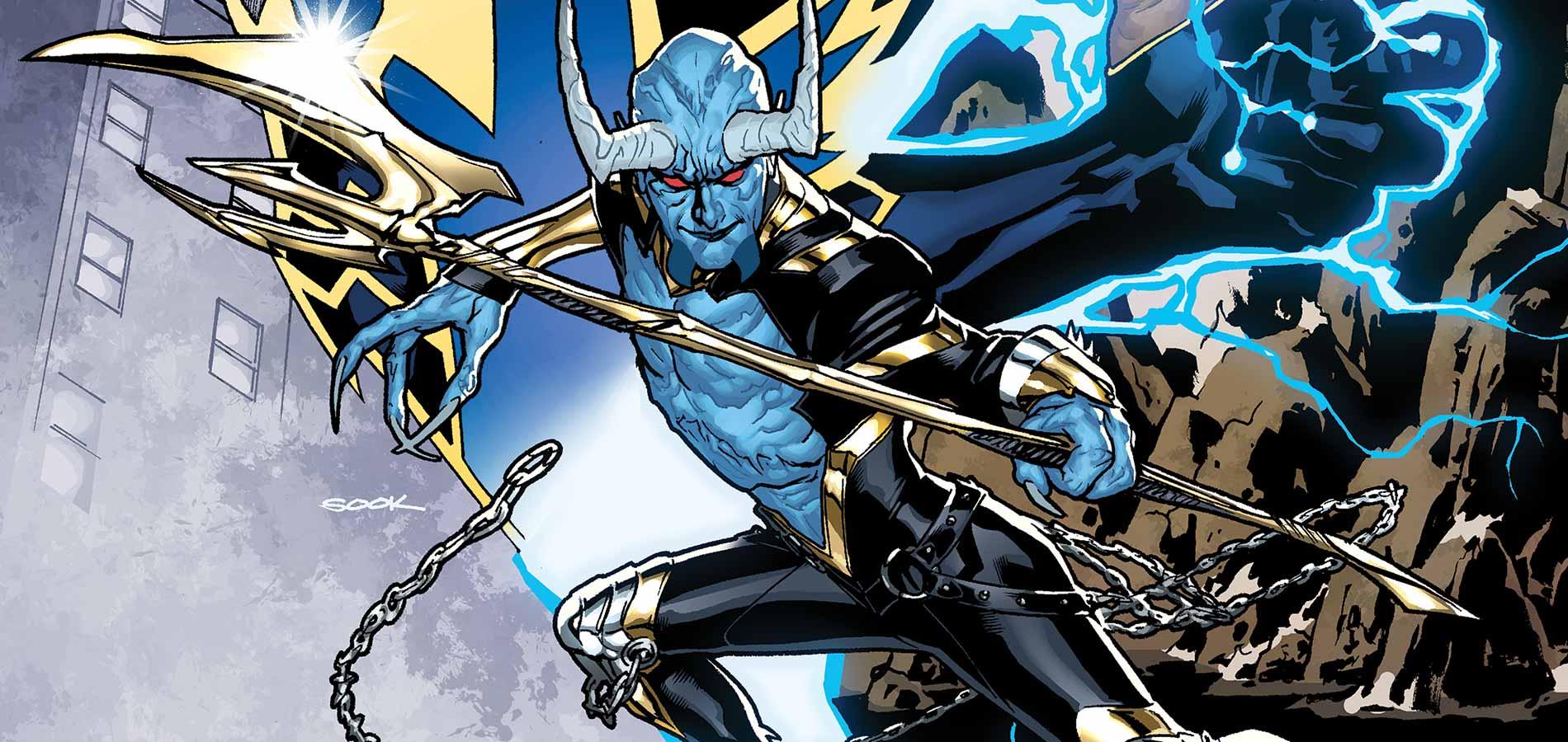 Ian Ziering de Sharknado interpretará a Blue Devil en Swamp Thing de DC