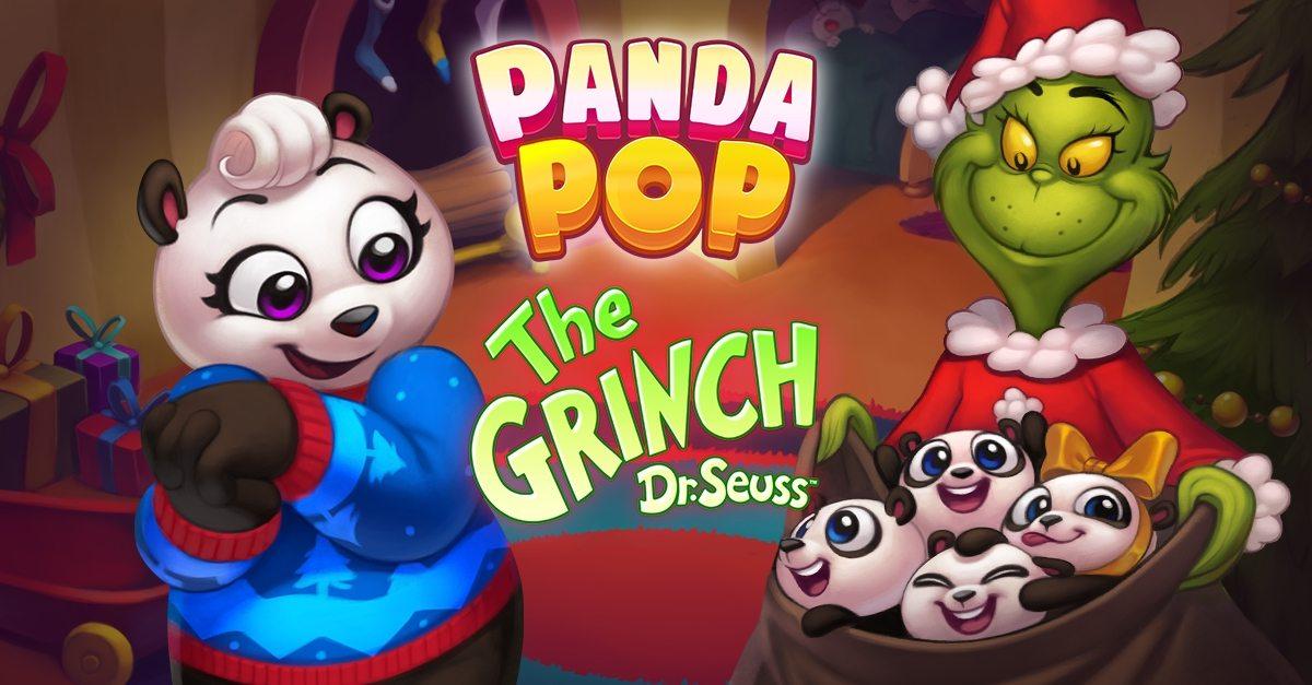 The Grinch se hace cargo de Panda Pop en el evento de Navidad 'Grinchmas'