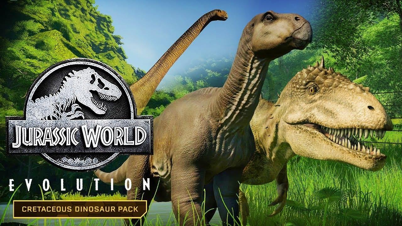 Cretaceous Dinosaur Pack trae nuevos dinosaurios a Jurassic World Evolution