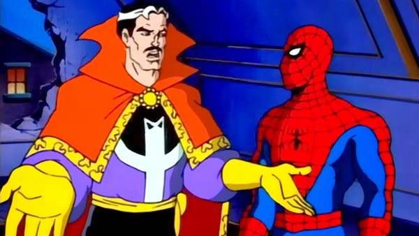 Doctor Strange aparece en el primer borrador de Spider-Man: Into the Spider-Verse