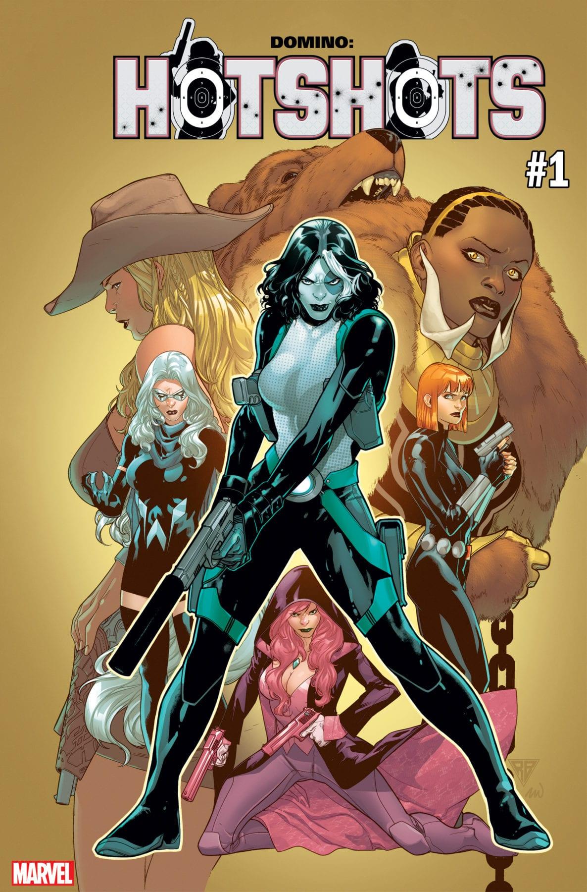 Gail Simone reúne a las mujeres fatales de Marvel para Hotshots