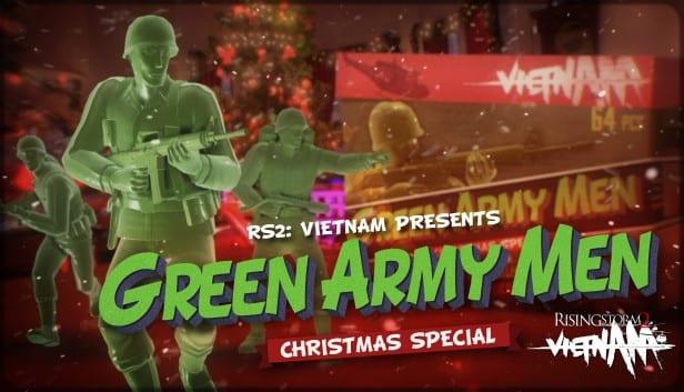 Rising Storm 2: el especial navideño de Vietnam trae pequeños hombres verdes