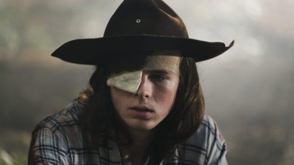 Chandler Riggs imagina a Carl en un post-Rick The Walking Dead