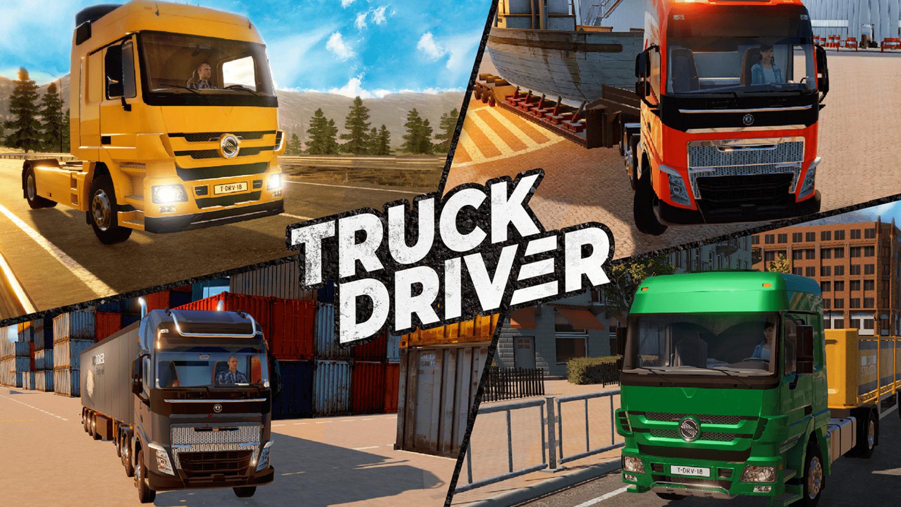 Truck Driver obtiene un primer avance del juego